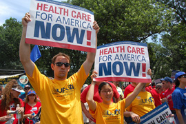 Rally in DC for Healthcare Compromise