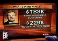 US Senator Owned by Insurance Companies