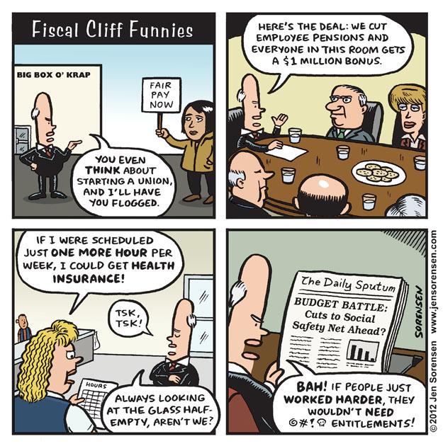 FiscalCliffFunnies
