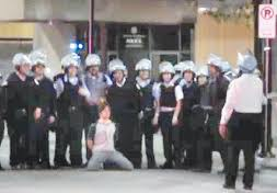 Pitt student humiliated by G20 police
