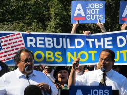 Congressional Progressive Caucus Co-chairs Reps. Raul Grijalva and Keith Ellison