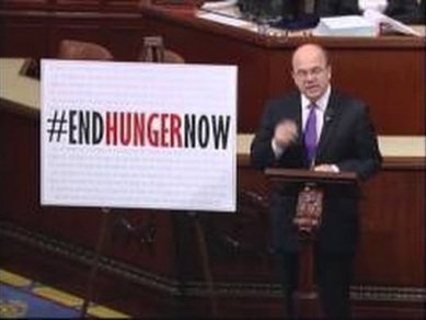 Congressional Progressive Caucus member Rep. Jim McGovern speaks on House floor against cuts to food stamp program