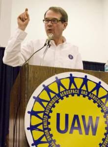 UAW Pres. Bob King