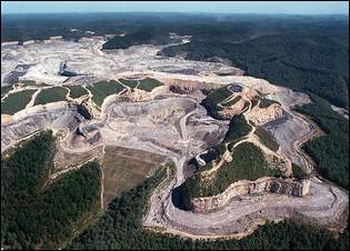 Martiki Mine in Martin County. EPA has loosened restrictions on selenium pollution from mountaintop removal mining, resulting in widespread destruction of fish.