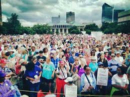 Moral Monday Rally at NC Capitol in Raleigh