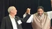 CWA Pres. Larry Cohen and Moral Monday Leader Rev. William Barber